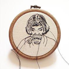 """Mini Amelie in 3"""" hoop"""