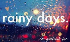 My FAVORITE type of weather for lazy days: overcast and rainy. The best. =)