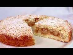 Ak milujete jablká, za týmto koláčom sa zbláznite! Veľmi ľahké! # 380 - YouTube Apple Cake Recipes, Apple Desserts, Chocolate Desserts, No Bake Desserts, Cookie Recipes, Delicious Desserts, Dessert Recipes, Apple Cakes, Chocolate Cookies