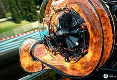 How a turbo look like?:This is how a turbo fire looks like in your car!