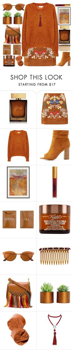 """""""#707"""" by grozdana-v ❤ liked on Polyvore featuring Dolce&Gabbana, Boohoo, Étoile Isabel Marant, Charlotte Russe, Dot & Bo, Lipstick Queen, Bloomingville, Kiehl's, RetroSuperFuture and Chanel"""