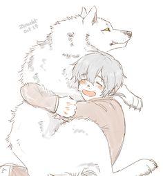 Kawaii Anime Girl, Anime Art Girl, Wolf Boy Anime, Anime W, Anime Tattoos, Manga Games, Anime Scenery, Fandoms, Anime Characters