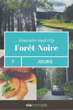 Un itinéraire pour un road trip 100% nature en Forêt-Noire. Découvrez l'incroyable beauté de cette région d'Allemagne!