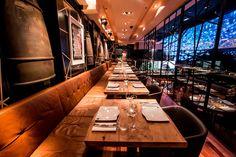 Dstrkt London dining space