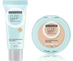 Base e Pó Compacto PURE make-up_MAYBELLINE