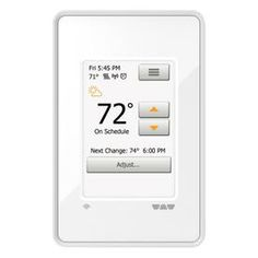Emerson 70 Series 5 2 Day Single Stage Programmable Thermostat In 2019 Products Baseboard Heating Heating