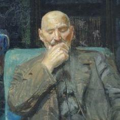 Leon Wyczółkowski, Autoportret, 1913 Realism Art, Impressionism, Famous People, Portraits, Polish, Painting, Belle Epoque, Artists, Vitreous Enamel