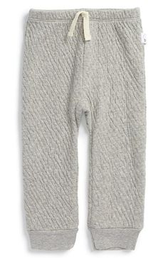 BURT'S+BEES+BABY+Organic+Cotton+Quilted+Sweatpants+(Baby)+available+at+#Nordstrom