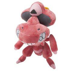 Pokemon Center Original Plush Doll : Genesect [Red Ver.]