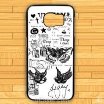 1D Harry Styles Tattoo Samsung Cases