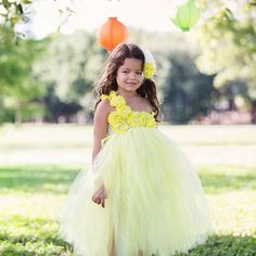 Yellow Flower girl Dress Flower girl dress by Pixiecoutureonetsy, $55.00 love the color
