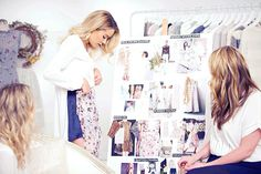 Take a peek behind the scenes of the LC Runway Collection!