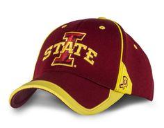 Iowa State Cyclones Jude Stretch Fit Hat - AUTHENTIC BRAND Iowa State  Cyclones b78db6a44