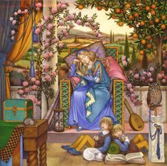 Carol Lawson   ILLUSTRATION   Sleeping Beauty