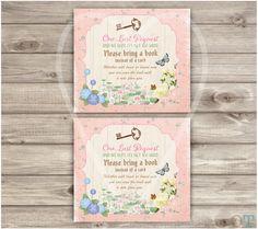 FAIRY Baby Shower Invitations GARDEN Fairy by OffspringTrendz