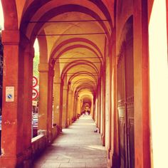 "Porticoes of Bologna - ""The walk to Madonna di San Luca"" by @journeytom"
