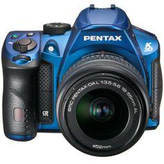 K-30 Silky Blue 18-55 WR Lens Kit