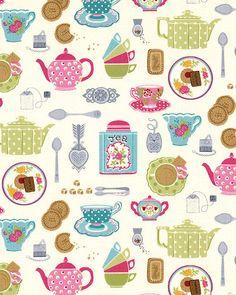 Tea Party - Treats for Tea - Cream