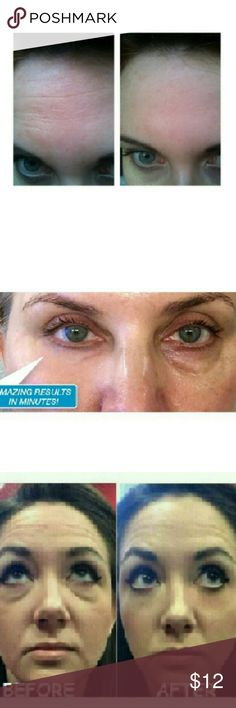 4-Instantly Ageless jeuness face eye lift cream Just Try It Amazing LOOK 10 Years Younger ! *Work in 2  or less *Results last 6-8 hours/ time *Each application provides 1-3 time *Each sachet is 0.3 ml BENEFIT  -Reduce the appearance of under-eye bags immediately -Visibly diminishes the appearance of fine lines and wrinkles -Tighten,firm and lift the appearance of sagging skin  Receive : 4 sachets Jueness Makeup Face Primer