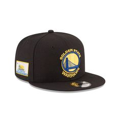 pretty nice 23ee2 d49de New Era Golden State Warriors 6X NBA CHAMPIONS 9Fifty Snapback Adjustable  Hat,  29.99