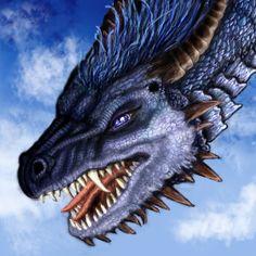 Saphira of Eragon by Ruth-Tay.deviantart.com on @DeviantArt