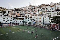 brazil, favela, and football image