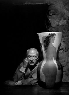PABLO PICASSO by Yousuf Karsh [1954]
