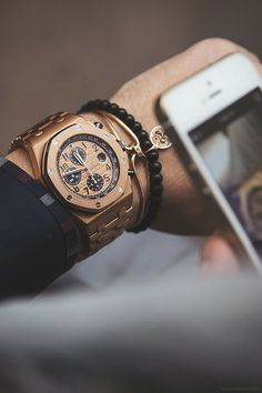In my dreams: Audemars Piguet Royal Oak Offshore in Pink Gold