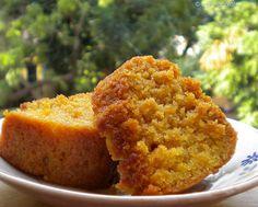 Tuscan Orange Cake (all purpose flour, baking powder, baking soda, salt, sugar, 2 oranges, olive oil, sunflower oil, and water).