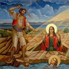 Αγία Μαρκέλλα η Παρθενομάρτυς η Χιοπολίτιδα ___july 22        ( Agia Markella