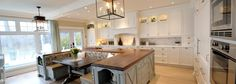 Cape Cod style Country kitchen by Ateliers Jacob