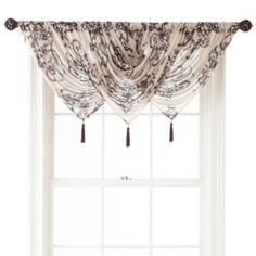 Buy Royal Velvet Ardesia Tab Top Sheer Waterfall Valance today at jcpenneycom You deserve great deals and weve got them at jcp!