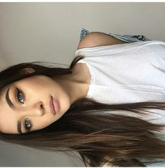 Imagem de fashion, girl, and makeup