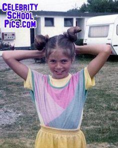 Heidi Klum - Celebrity School Pic