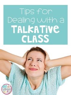 Diary of a Not So Wimpy Teacher: Tips for Dealing with a Talkative Class Classroom Economy, Effective Classroom Management, Classroom Behavior, Classroom Ideas, Classroom Organization, Classroom Procedures, Classroom Environment, Preschool Classroom, Future Classroom