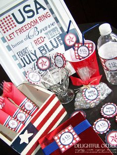 4th of July Etsy Set