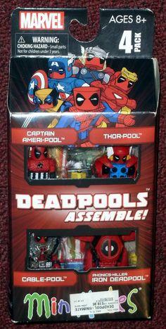 Minimates Deadpools Assemble