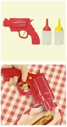 Ketchup and mustard GUN Picnic Party