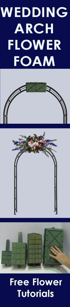 Idea to decorate the arch ideas pinterest arch indoor wedding flower arch easy step by step flower tutorials learn how to make bridal bouquets junglespirit Gallery