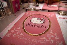 Hello Kitty restaurant dessert menu