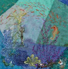 CRAZY QUILTING INTERNATIONAL: Under the Sea DYB Round Robin 2011