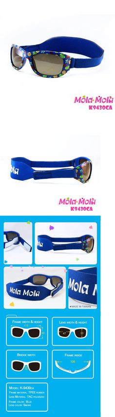 f6fd7d67b6 Sunglasses 176967  Baby Sunglasses Sport Polarized Boy Dark Blue Safety  Strap 1-3 Years