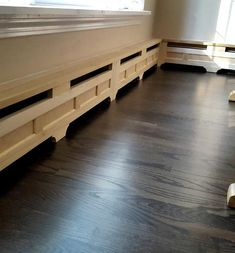 Classic Style - Custom Baseboard Heater Covers - Custom Sizes Available - DIY INSTALL - Retrofit or New - Replacement Radiator Covers Baseboard Radiator, Baseboard Heater Covers, Baseboard Heating, Baseboards, Cast Iron Radiators, Radiator Cover, Heating Systems, Classic Style, Interiors