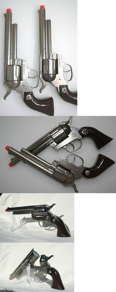 Diecast 152939: Metal Silver Cap Guns Pair Of 2 Pistols Made In Spain Metal Cap Guns New 10015 -> BUY IT NOW ONLY: $43.14 on eBay!