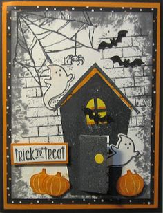 Crafty Maria's Stamping World: Trick or Treat