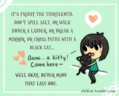 Black cats need love too. <3 Going to be gone tomorrow, spending time with trees and science nerds. XD