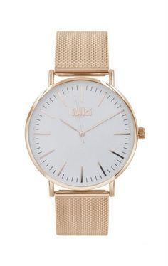 IKKI Danny Rose gold/White Watch DA74