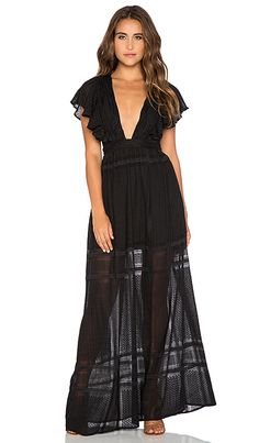 THE JETSET DIARIES Casablanca Maxi Dress in Black | REVOLVE