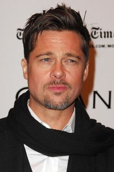 Brad Pitt As he ages so do I and he is like a fine wine