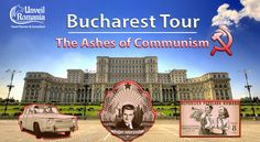 The Ashes of Communism - a private tour designed around a story. You'll go through 45 years of communism and see beyond Bucharest's colorful present Romania Tours, Bucharest Romania, 45 Years, Communism, Travel Planner, Tour Guide, Join, Colorful, Books